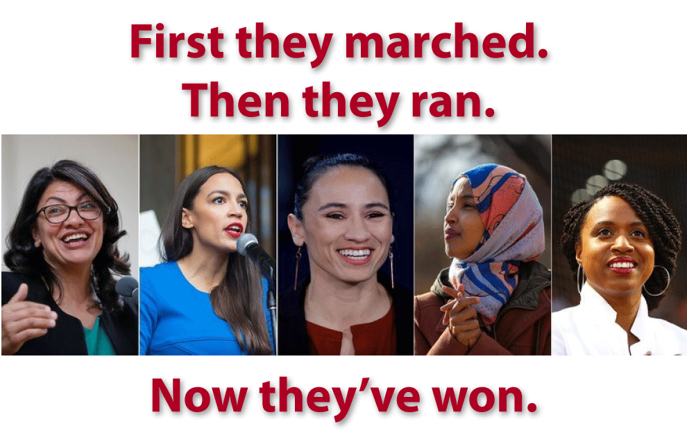 First they marched. Then they ran. Now they've won.