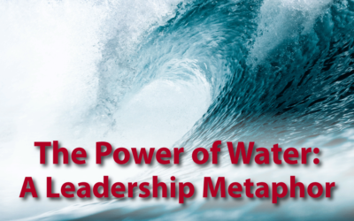 The Power of Water: A Leadership Metaphor