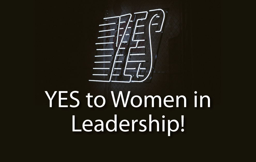 YES to Women in Leadership!